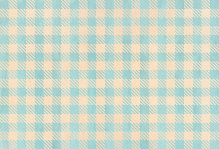 checked: Watercolor blue and beige checked pattern. Geometrical traditional ornament for fashion textile, cloth, backgrounds.