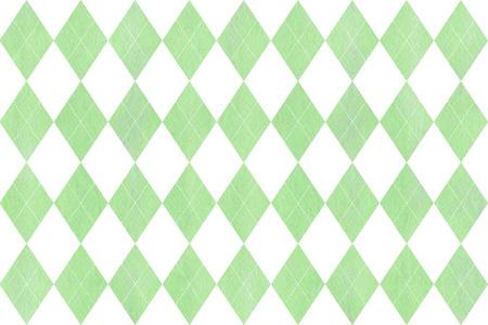 Aquarel mintgroen ruitpatroon. Geometrisch traditioneel ornament voor maniertextiel, doek, achtergronden.