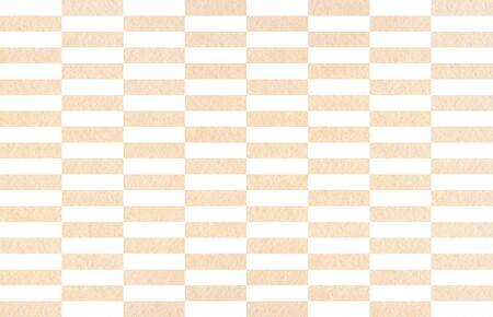 Watercolor beige striped background. Watercolor geometric pattern.