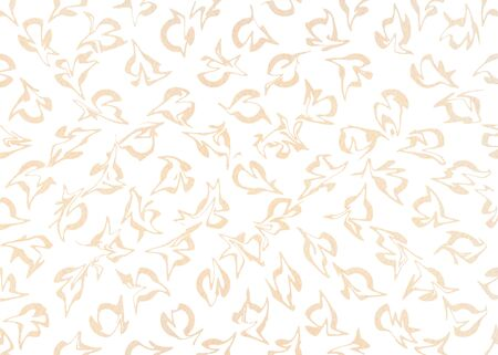 buff: Watercolor beige abstract pattern. Ornament for fashion textile, cloth, backgrounds