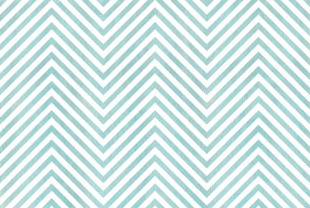 Watercolor blue stripes background, chevron. Watercolor geometric pattern Stock Photo