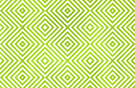 Watercolor geometrical pattern in lime green color. For fashion textile, cloth, backgrounds. Stock Photo