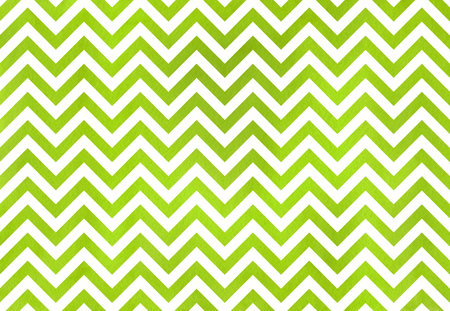 Watercolor lime green stripes background, chevron. Watercolor geometric pattern