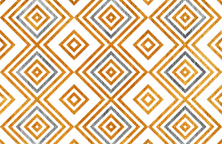 scraps: Golden and silver geometrical pattern. For fashion textile, cloth backgrounds