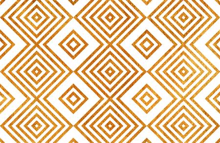 Gouden geometrisch patroon. Voor mode textiel, doek achtergronden