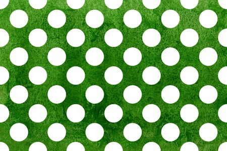 polkadot: Watercolor green polka dot background. Pattern with dots for scrapbooks, wedding, party or baby shower invitations.