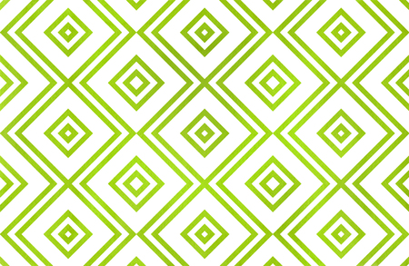 Watercolor geometrical pattern in lime green color. For fashion textile, cloth, backgrounds. Reklamní fotografie