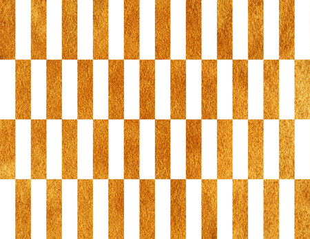Golden painted striped background. Golden shining texture. Gold paint