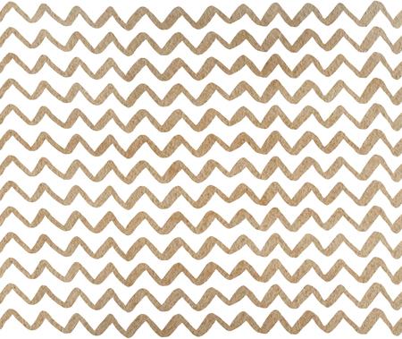 Watercolor khaki hand painted stripes pattern, chevron.