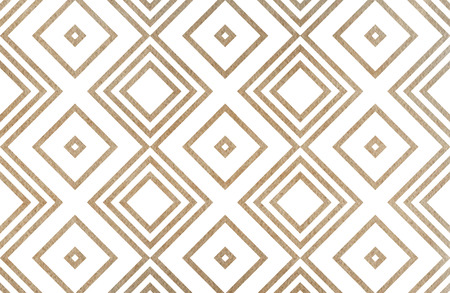 Watercolor geometrical pattern in khaki color. For fashion textile, cloth, backgrounds.