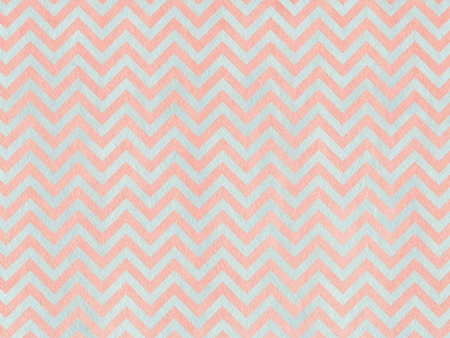 Watercolor grey and pink stripes background, chevron.