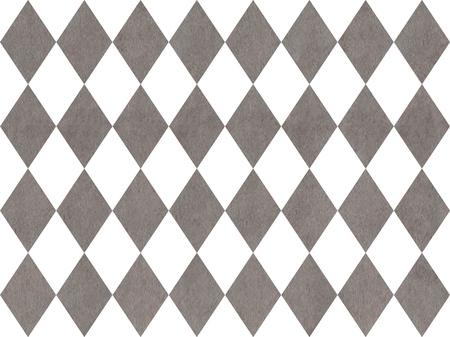 Watercolor gray diamond pattern. Geometrical traditional ornament for fashion textile, cloth, backgrounds.