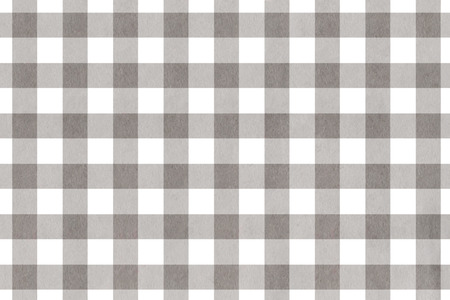 Watercolor gray checked pattern. Geometrical traditional ornament for fashion textile, cloth, backgrounds. Banco de Imagens