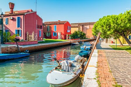 Burano, an island in the Venetian Lagoon.