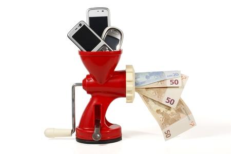 Vende tus tel�fonos m�viles viejos para ganar dinero y ayudar al medio ambiente mediante el reciclaje, la actitud ecol�gica