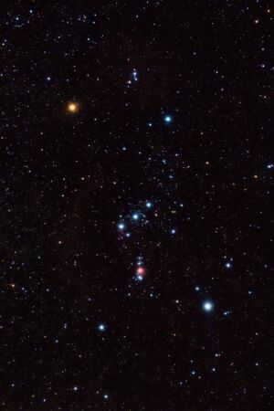 Orion constellation and nebula photo