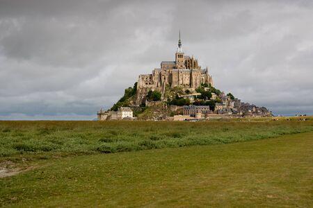 The mount Saint-Michel Abbey , Normandy, France Stock Photo - 5533811