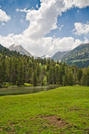 Sant Maurici National Park in the Catalan Pyrenees photo