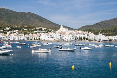 The Village of Cadaques in Costa Brava, Girona (Spain) Stock Photo