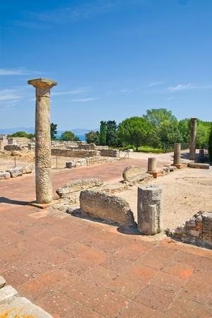 costa brava: Empuries Roman ruins, Costa Brava (Espagne)