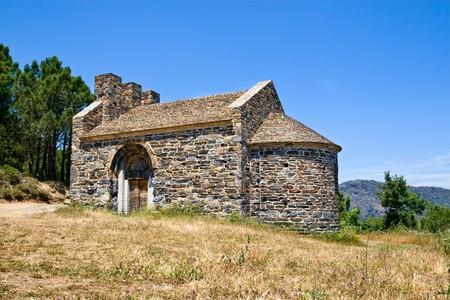 romanesque: Romanesque church of Sant Miquel de Colera, Catalonia, Spain