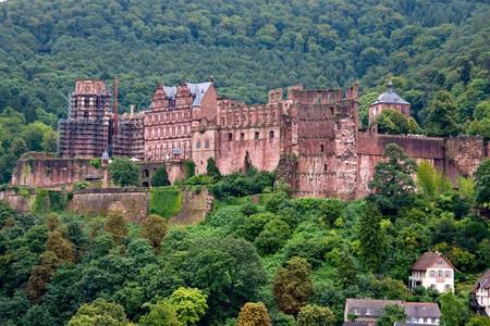 View of Heidelberg Castle photo