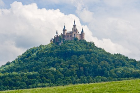 Hohenzollern castle in the Black Forest, Germany photo