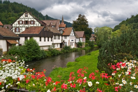 The village of Schiltach in the Black Forest, Germany Stock Photo