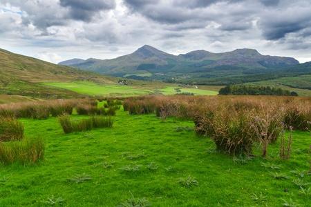 Beau paysage de Snowdonia, au Pays de Galles Banque d'images - 10912738