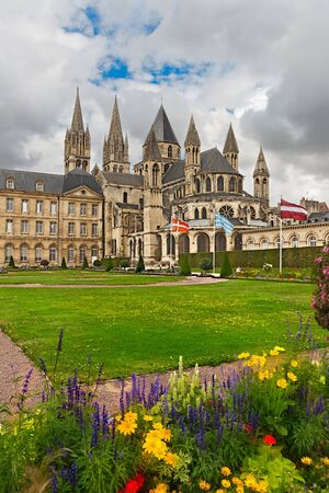 abbaye: Abbey of Saint Etienne,  Caen, Normandy, France