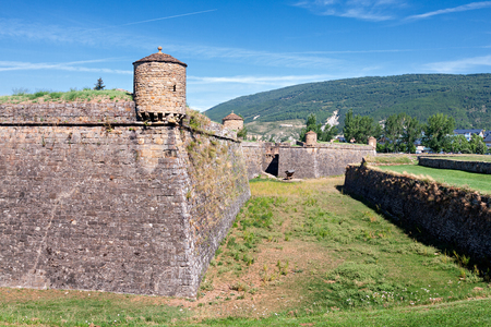 citadel: Ciudadela of Jaca, a military fortification in Spain