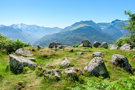 stoneage: Prehistoric Cromlech in the French Pyrenees