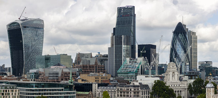 institutions: The City of London Panorama