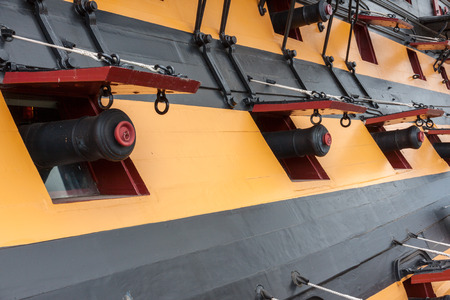 gunnery: HMS Victory Cannons