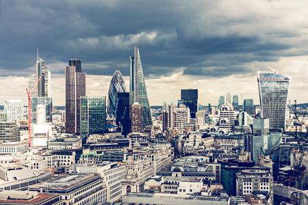 La City de Londres Banque d'images - 36890255