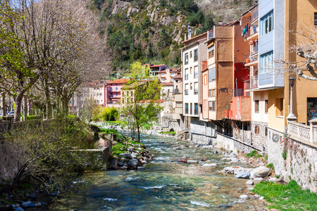 ribes: The Village of Ribes de Freser in Catalonia