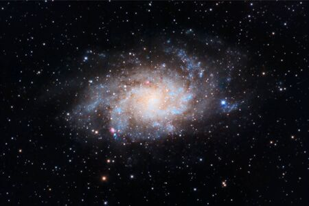 triangulum: Triangulum Galaxy captured with an amateur telescope