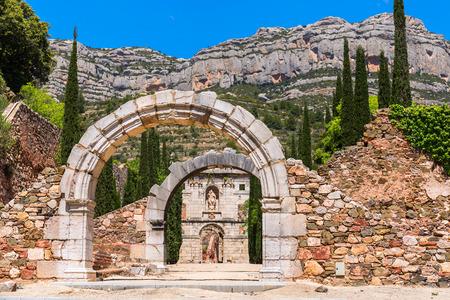 dei: Ruins of Scala Dei, a medieval Carthusian Monastery in Catalonia