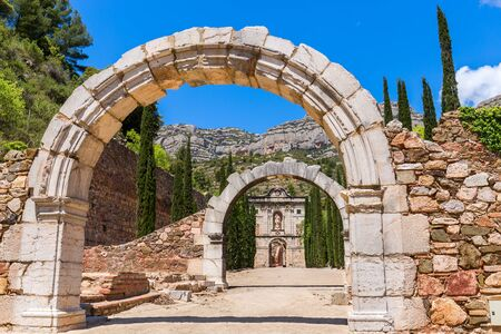 destination scenics: Ruins of Scala Dei, a medieval Carthusian Monastery in Catalonia