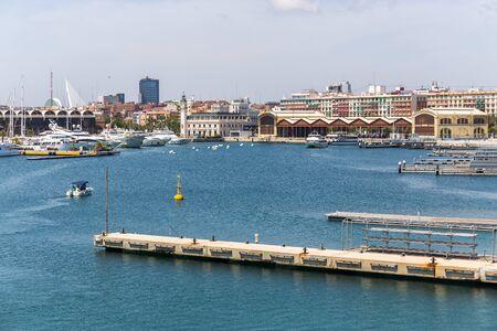 valencia: Port of Valencia, Spain Editorial