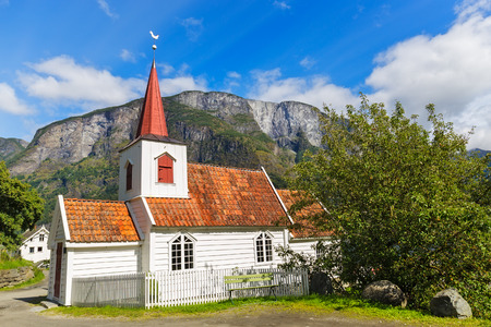 smallest: Undredal Stave churchl, Norway. Built in 12th century, it is the smallest in Norway.