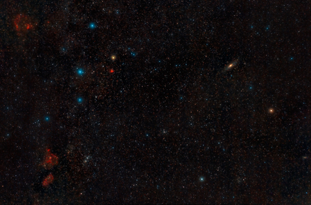 constelaciones: Cassiopeia Constellations and Andromeda Galaxy captured with a DSLR