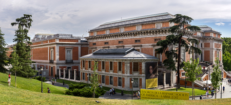 velazquez: MADRID; SPAIN JUNE 4: The Prado Museum is considered the best collection of Spanish art and one of the worlds finest collections of European art. June 4, 2017 in Madrid, Spain
