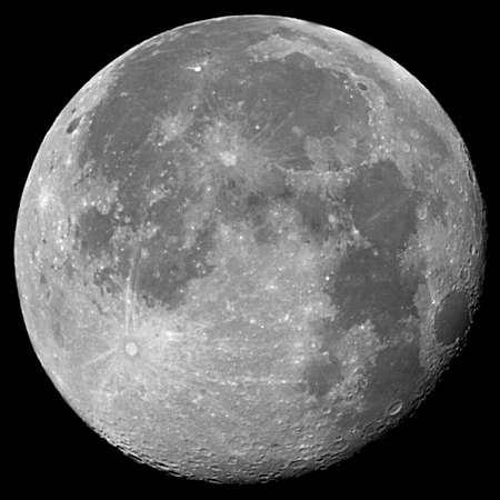 full moon: Moon Stock Photo