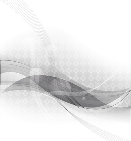 smoothness: abstract vector background with gray stripes Illustration