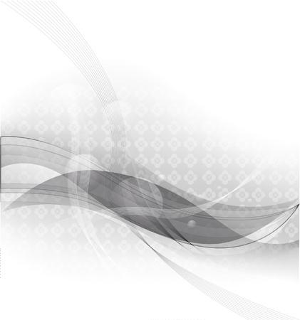 arrière-plan de vecteur abstraite avec des bandes grises