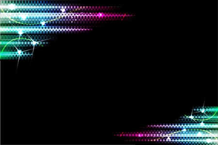 laser beam: abstract bright background. Vector Illustration