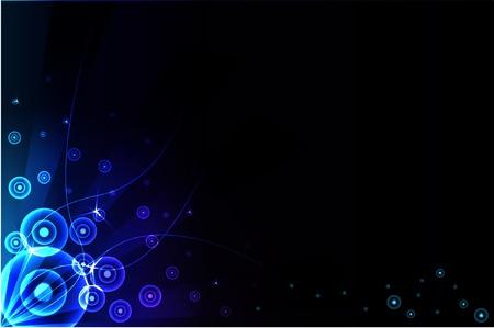 originalidad: fondo azul abstracta. Vector