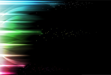 neon color: abstract rain - a bright background. Vector