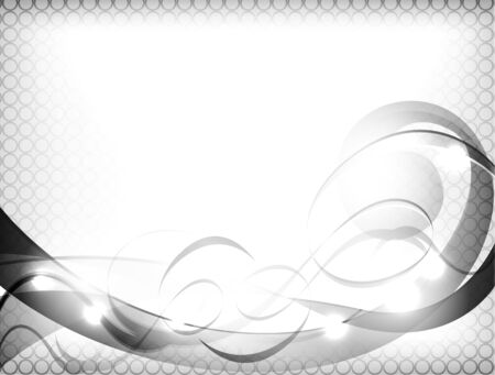 abstract gray background with a beautiful light effect Vector